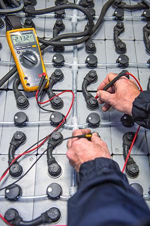 Batterijen te koop bij Heftruckcentrum Onderwater
